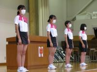壮行式3(ソフトテニス部)