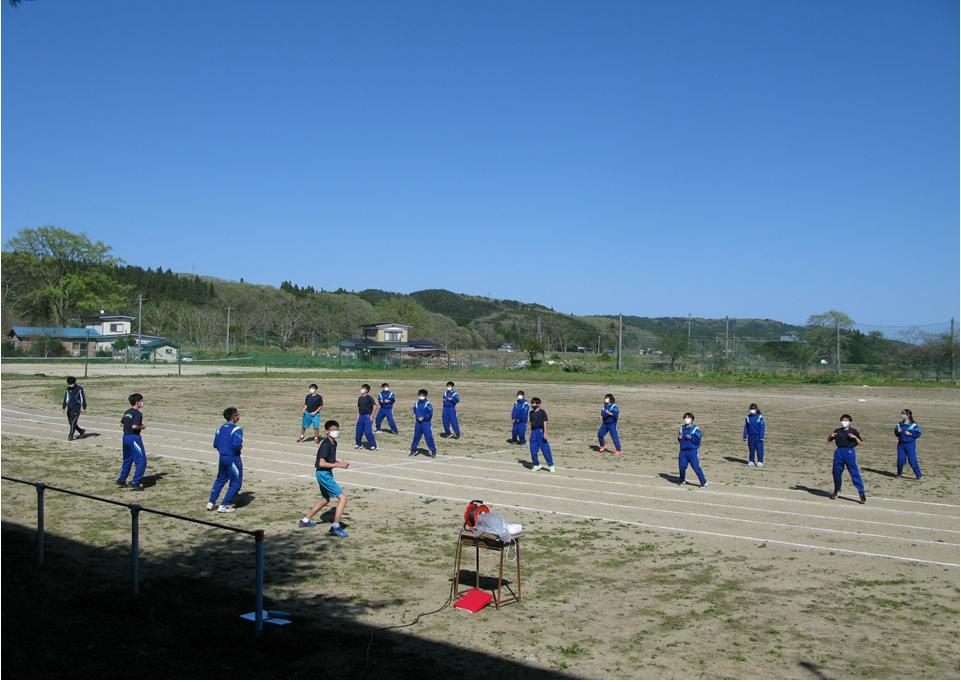 組団練習が始まりました