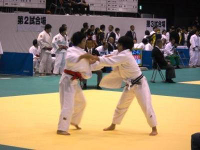 画像:国民体育大会柔道競技会が開催されました