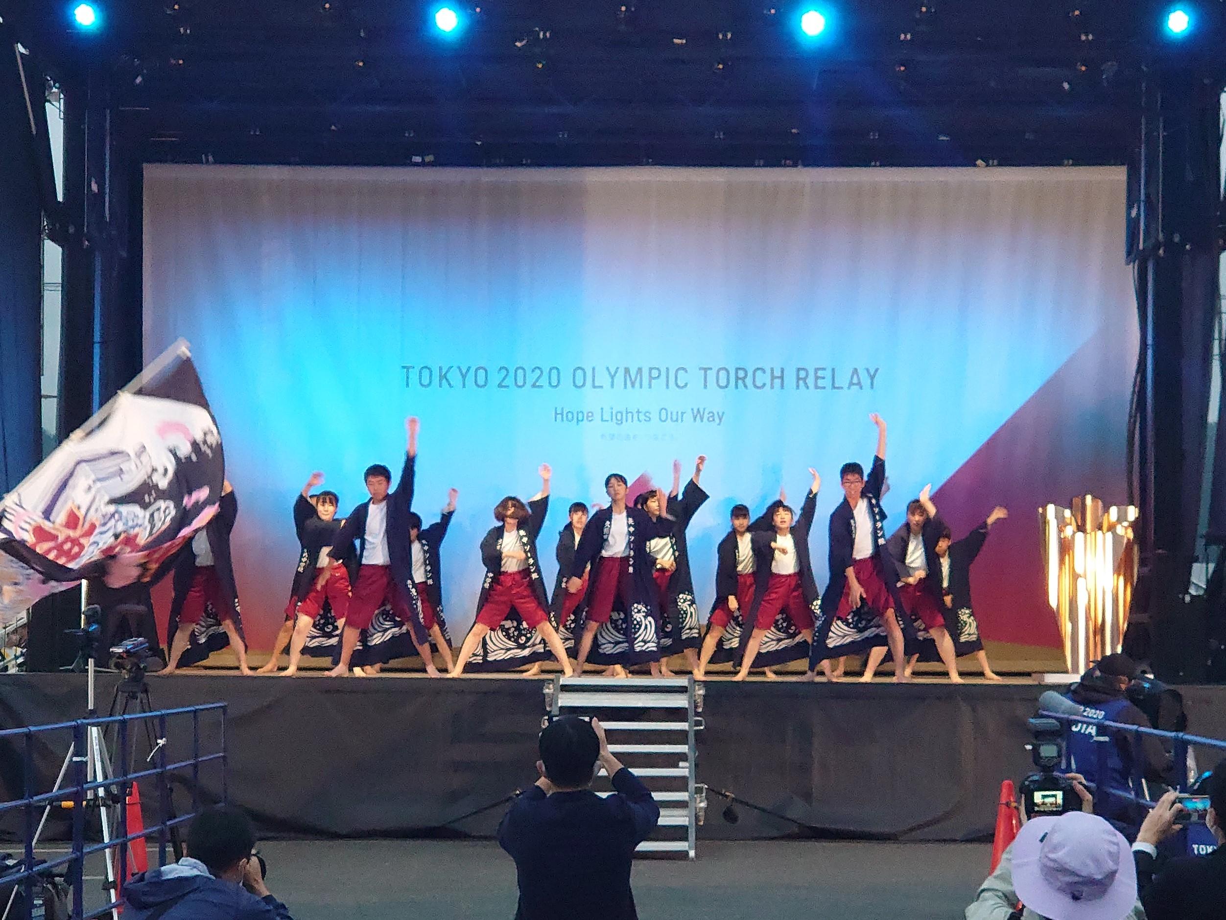 画像:東京2020オリンピック聖火リレーセレブレーションに参加しました。