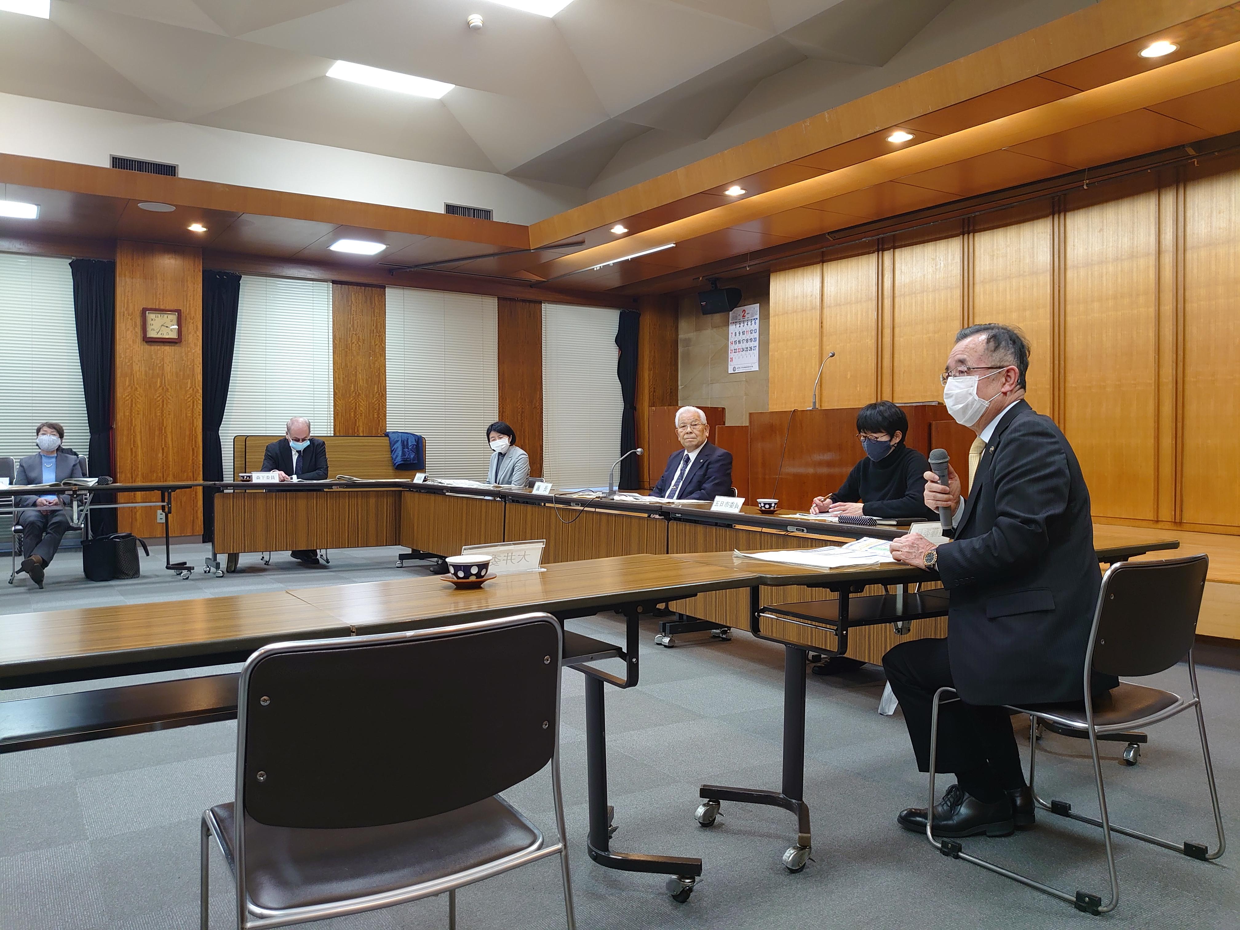 画像:岩手県水産審議会に出席しました。