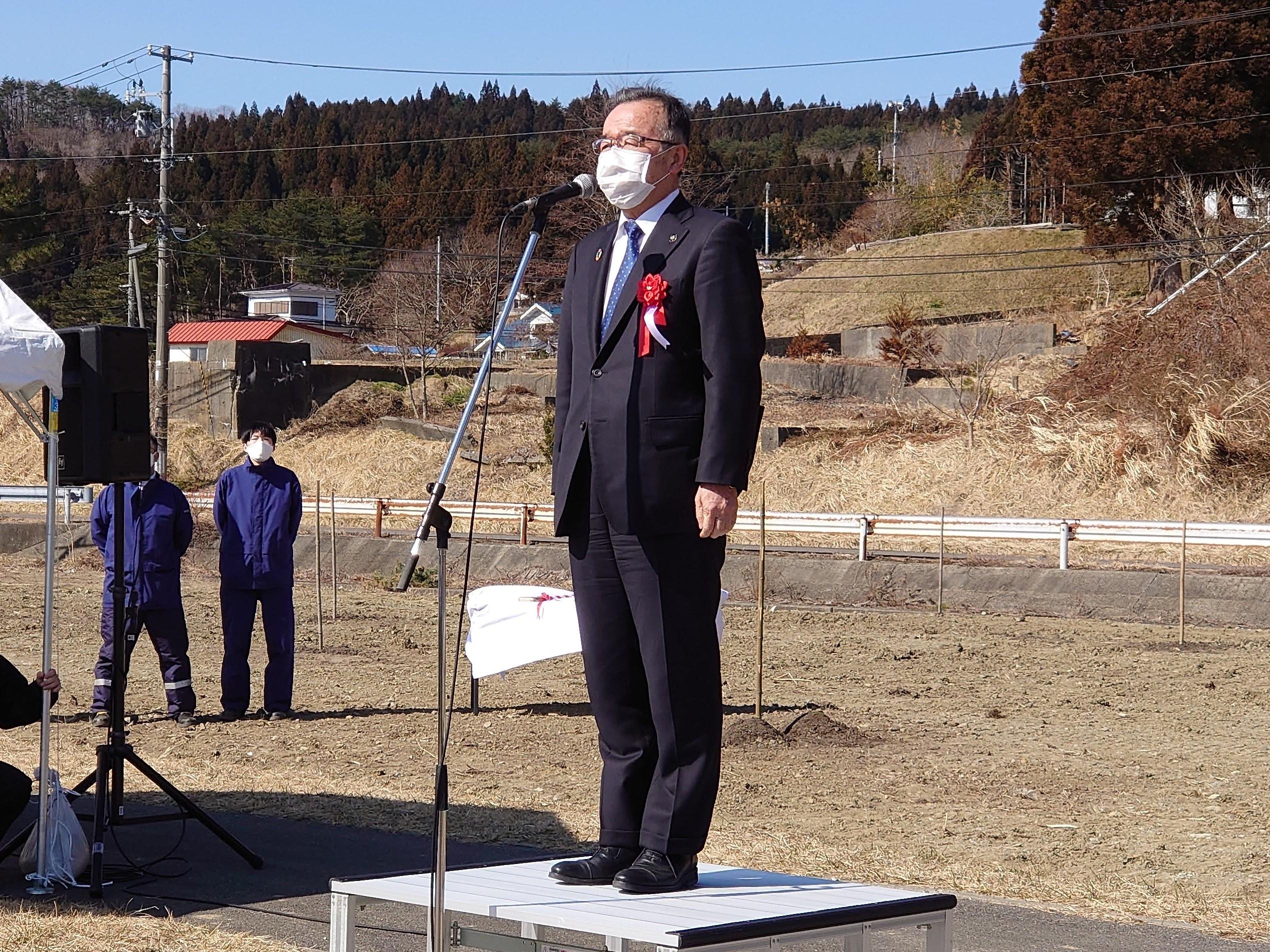 画像:東日本大震災10年記念桜植樹会に参加しました。
