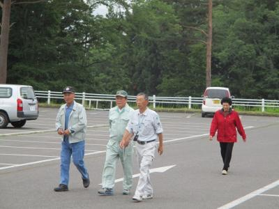 画像:津波避難訓練を行いました