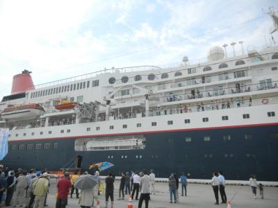 画像:にっぽん丸入港