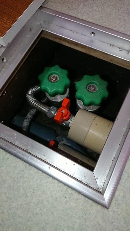 ハンドル式水抜き栓1